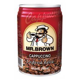 Mr. Brown Cappucino Nápoj s kávovým extraktem, mlékem a s čokoládovou příchutí