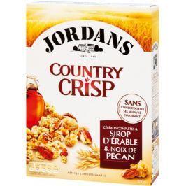 Jordans Country crisp cereálie se sirupem a pekanovými ořechy