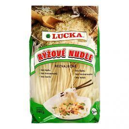 Lucka Nudle rýžové bezlepkové 3mm