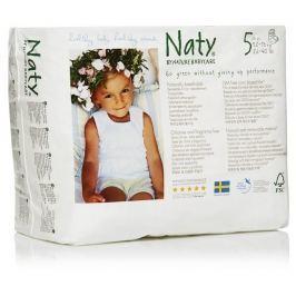Naty Nature Babycare Jednorázové bio natahovací plenkové kalhotky Junior 12-18kg (velikost 5) 20ks