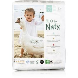 Naty Nature Babycare Jednorázové dětské bio plenky Midi 4-9kg (velikost 3) 31ks