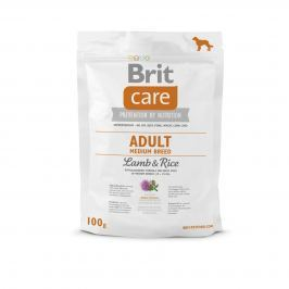 VZOREK: Brit Care Adult Medium Breed Lamb & Rice 1ks
