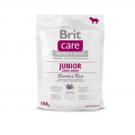 VZOREK: Brit Care Junior Large Breed Lamb & Rice 1ks