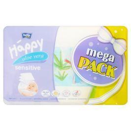 Bella Baby HAPPY mega pack čistící ubrousky s aloe vera 4 x 56 ks
