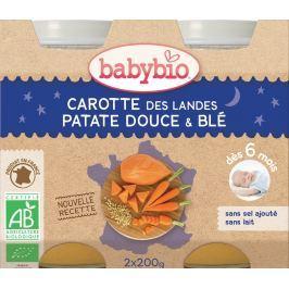 BABYBIO Mrkev, sladké brambory a pšenice