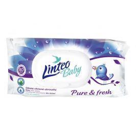 Linteo Baby Pure & Fresh dětské vlhčené ubrousky 80 ks