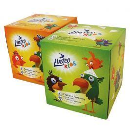 Linteo Kids papírové kapesníky s dětským motivem BOX 2vrstvé 80ks