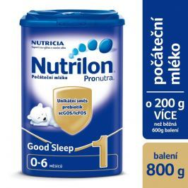 Nutrilon 1 Pronutra Good Sleep