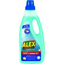 Alex 2v1 čistič + leštěnka na dlažbu a linoleum s citrónovou vůní