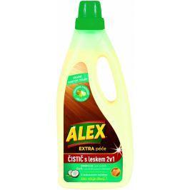 Alex 2v1 čistič + leštěnka s kokosovým mýdlem na dřevo a parkety