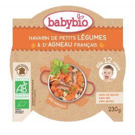 BABYBIO Dušená zelenina s jehněčím masem