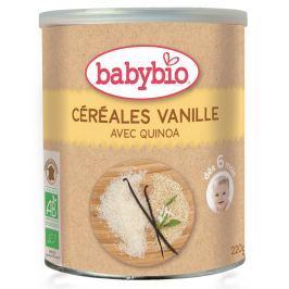 BABYBIO nemléčná rýžovo-quinoová kaše s vanilkou