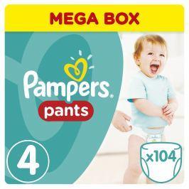 Pampers Pants plenkové kalhotky Maxi Mega Box 9-14kg (velikost 4) 104ks