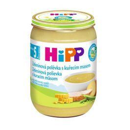 HiPP Bio Zeleninová polévka s kuřecím masem