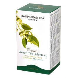 Hampstead Tea BIO selekce zelených čajů 20ks