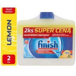 Finish Čistič myčky citronový 2x250ml
