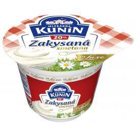 Mlékárna Kunín Zakysaná smetana de luxe 20%