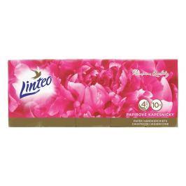 Linteo Premium papírové kapesníky 4vrstvé 10x10ks