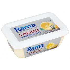 Rama s máslem a mořskou solí
