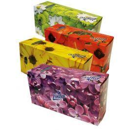 Linteo papírové kapesníky 2vrstvé box 150ks