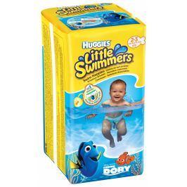 Huggies Little Swimmers 2/3 plenkové kalhotky na plavání 3-8kg (12ks)