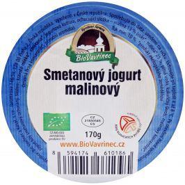 BioVavřinec Jogurt smetanový malinový