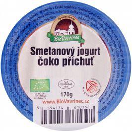 BioVavřinec Jogurt  smetanový s čokopříchutí
