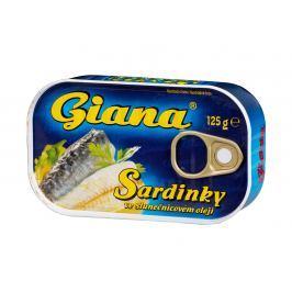 Giana Sardinky ve slunečnicovém oleji