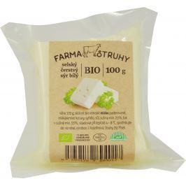 Farma Struhy Bio selský čerstvý sýr bílý