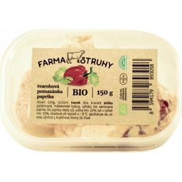 Farma Struhy Bio tvarohová pomazánka paprika
