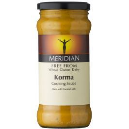 Meridian foods Korma - indická  omáčka FREE FROM