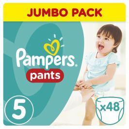 Pampers Pants plenkové kalhotky Junior 12-18kg (velikost 5) 48ks