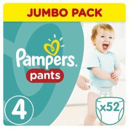 Pampers Pants plenkové kalhotky Maxi 9-14 kg (velikost 4) 52ks