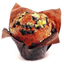 Muffin borůvkový