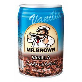 Mr. Brown Vanilla Nápoj s mlékem a kávovým nálevem s vanilkovou příchutí