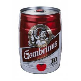 Gambrinus Originál 10 pivo výčepní světlé soudek