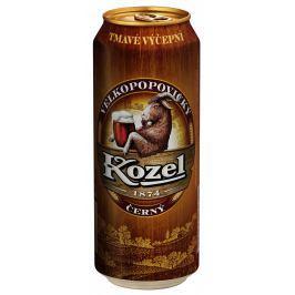 Velkopopovický Kozel černé pivo plech