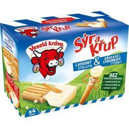 Veselá Kráva Sýr a křup 4ks