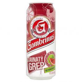 Gambrinus Šťavnatý grep míchaný nápoj z piva plech