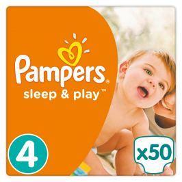 Pampers Sleep & Play plenky Maxi 9-14kg (velikost4) 50ks