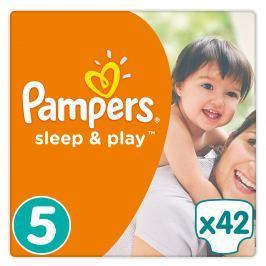 Pampers Sleep & Play plenky Junior 11-18kg (velikost5) 42ks