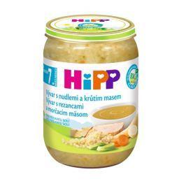 HiPP Bio vývar s nudlemi a krůtím masem