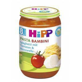 HiPP BIO Rajčata se špagetami a mozzarelou