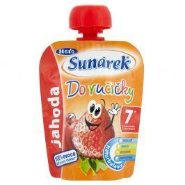 Sunárek Do Ručičky Příkrm pro děti s jahodami