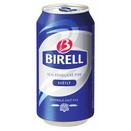 Birell Nealkoholické světlé pivo plech