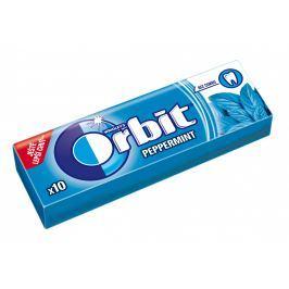 Wrigley's Orbit Peppermint žvýkačka bez cukru