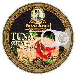 F.J.Kaiser Tuňák kousky v rostlinném oleji s chilli