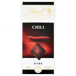 Lindt Excellence Chilli hořká čokoláda