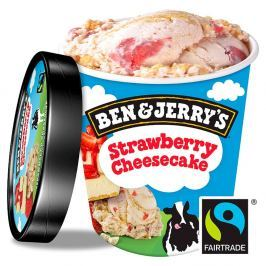 Ben&Jerry's Strawberry Cheesecake