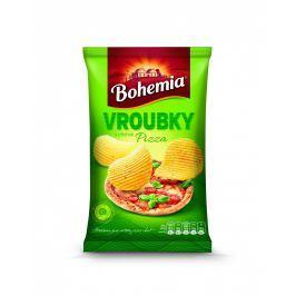 Bohemia Chips vroubkované s příchutí pizza